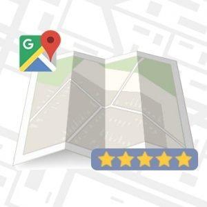 Reseñas positivas en Google Maps