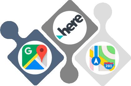 Iconos de apps para gestionar la presencia de negocios