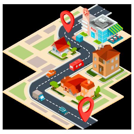 GuiaGPS_ciudad para localizar tu negocio