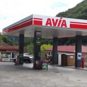 Gasolinera abierta en Valcarlos