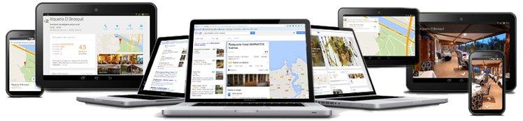 google maps todo tipo de dispositivos