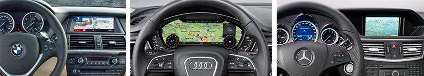 gps integrado vehiculo here maps