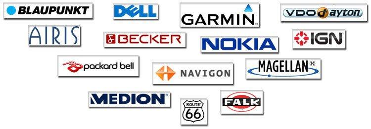 marcas navegadores gps here maps