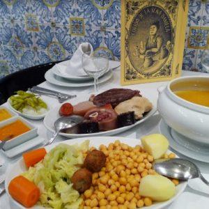 Restaurante cocido madrileño