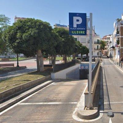 aparcamiento cento sitges