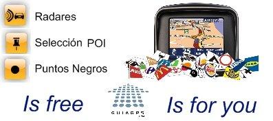 noticias Guia GPS - Poi free guiagps