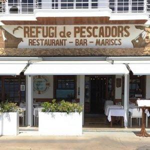restaurante costa brava girona refugi de pescadors