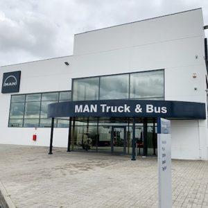 taller camiones MAN Truck Bus Service Aveiro